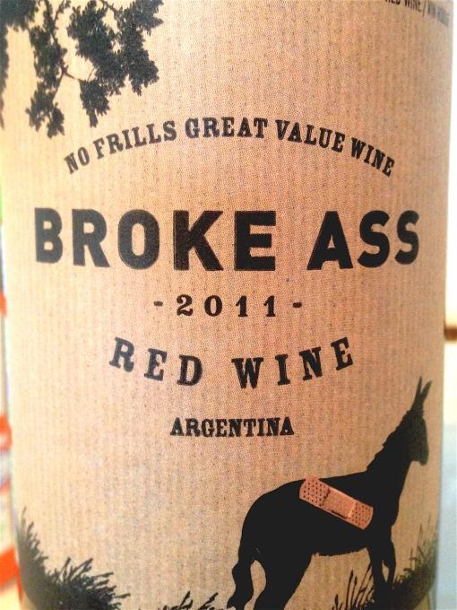 Broke Ass Red Wine